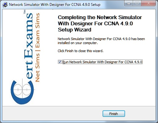 Certexams.com Network Simulator Download instructions