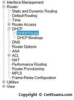 Network Simulator Lab:Cisco Router as DHCP Server
